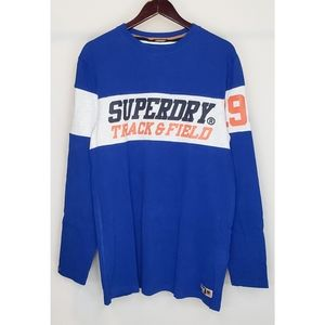 SUPERDRY Oversized Fit Track & Field Shirt Men